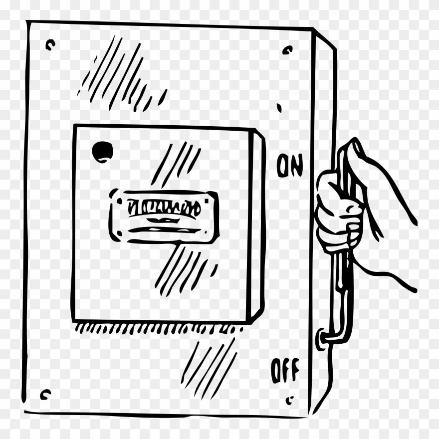 Clipart fuse svg Circuit Breaker Electrical Network Electrical Switches - Fuse Box ... svg