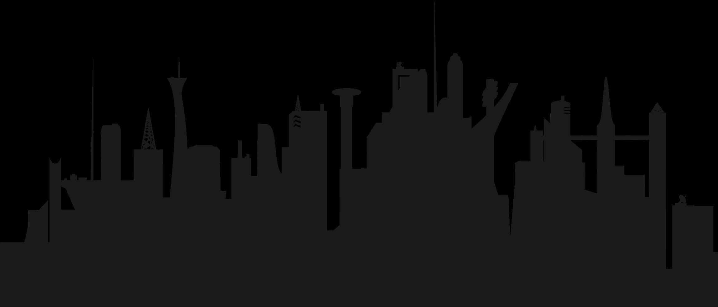 Clipart futurist black and white stock Futuristic cityscape clipart images gallery for free download ... black and white stock