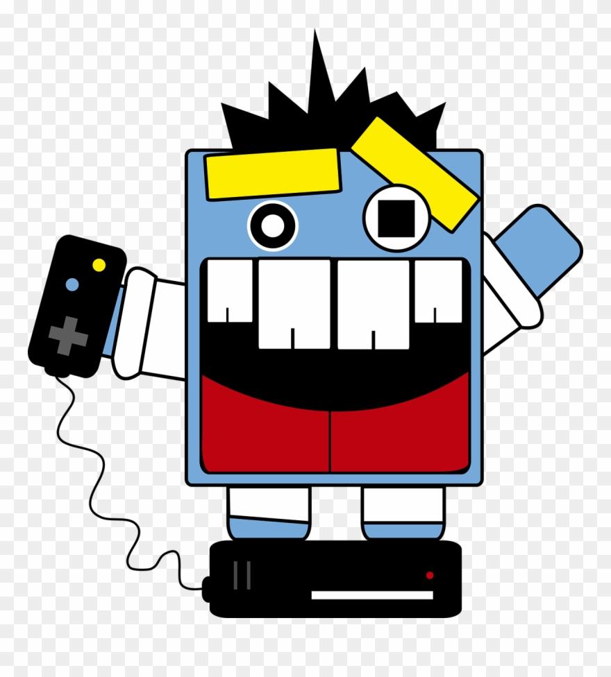 Clipart gamer png black and white stock Gamer,crazy,games,video Clipart (#1908844) - PinClipart png black and white stock