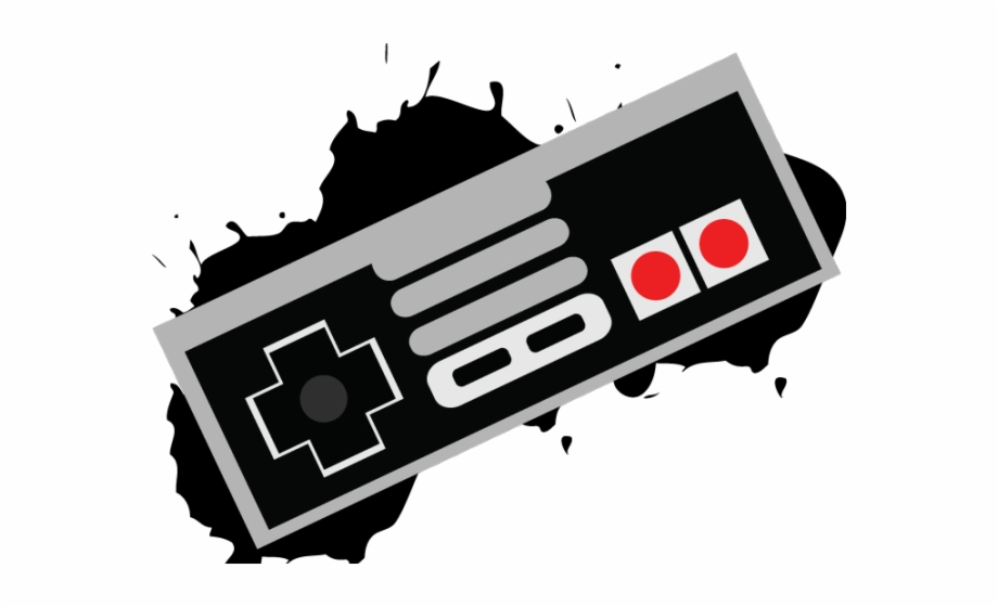 Clipart gamer vector transparent stock Controller Clipart Nintendo Controller - Happy Birthday Gamer ... vector transparent stock