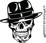 Clipart gangsters clip art black and white download Gangster Clip Art - Royalty Free - GoGraph clip art black and white download