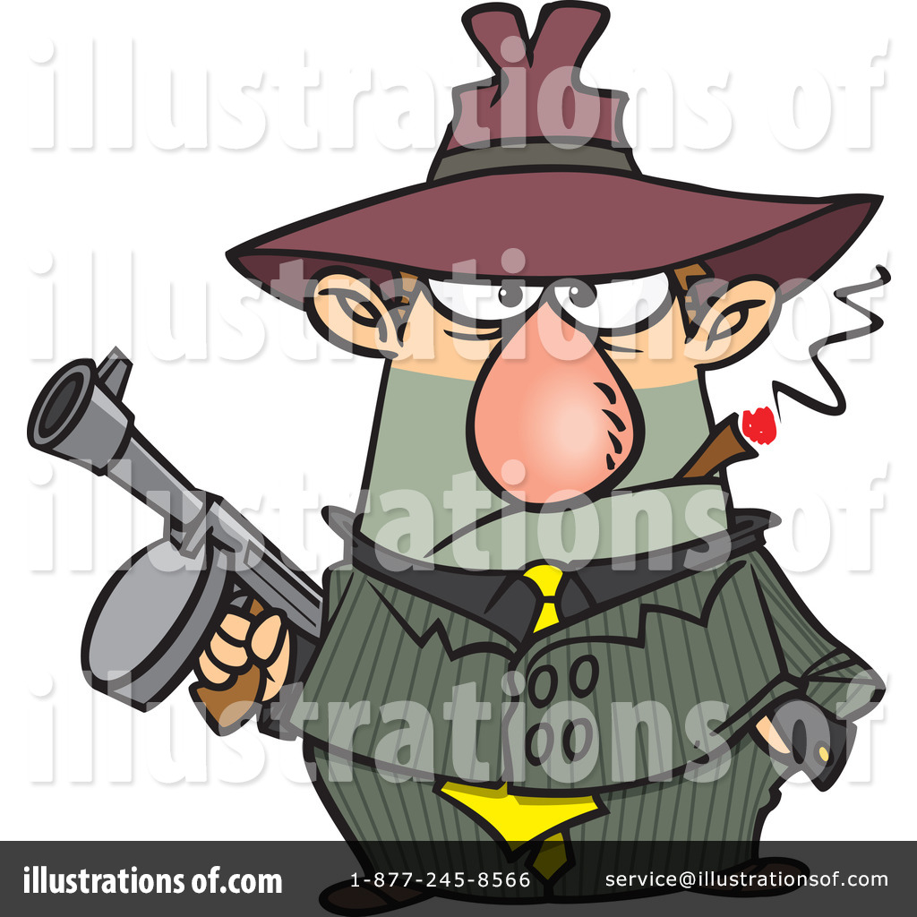 Clipart gangsters picture freeuse Gangster Clipart #441282 - Illustration by toonaday picture freeuse