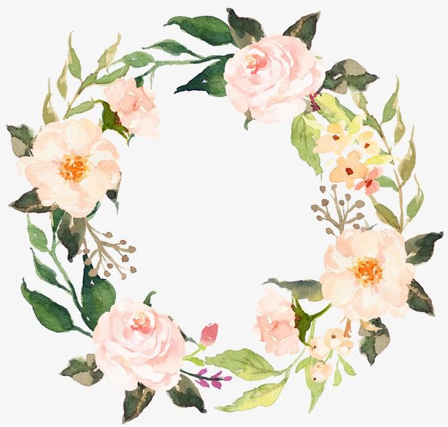 Clipart garland roses free png banner freeuse stock Sen Department Of Pink Flowers Garland, Flowers, Watercolor Wreath ... banner freeuse stock
