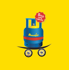 Clipart gas connection in delhi picture library download Bharatgas Mini 5kg Gas Cylinders picture library download