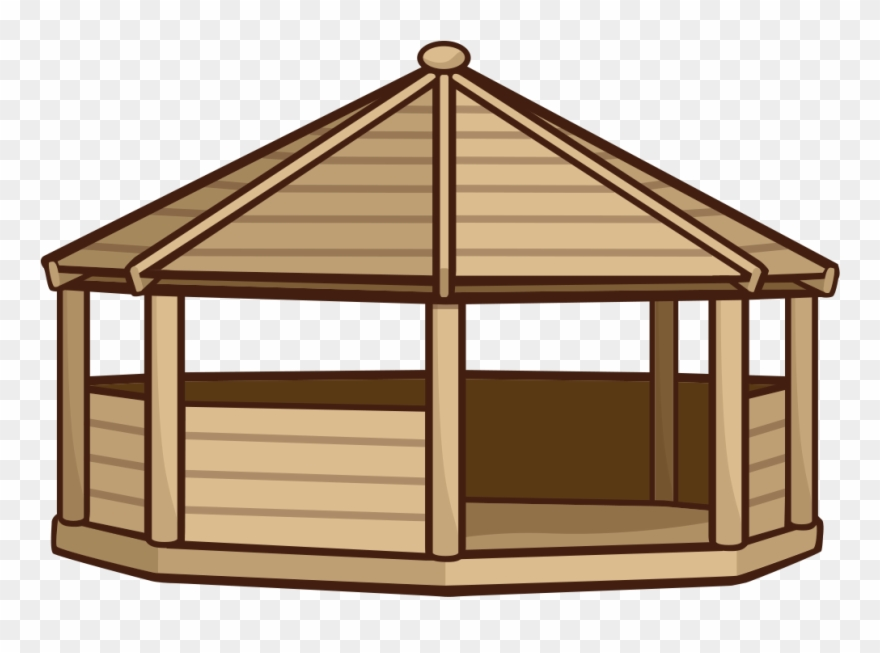 Clipart gazebo library Gazebo Clipart Transparent - School Outdoor Building - Png Download ... library