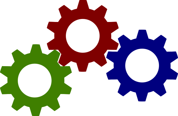 Gears clipart free