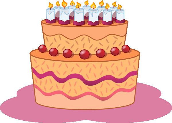 Clipart geburtstag clip art freeuse library Birthday Cake Clip Art at Clker.com - vector clip art online ... clip art freeuse library