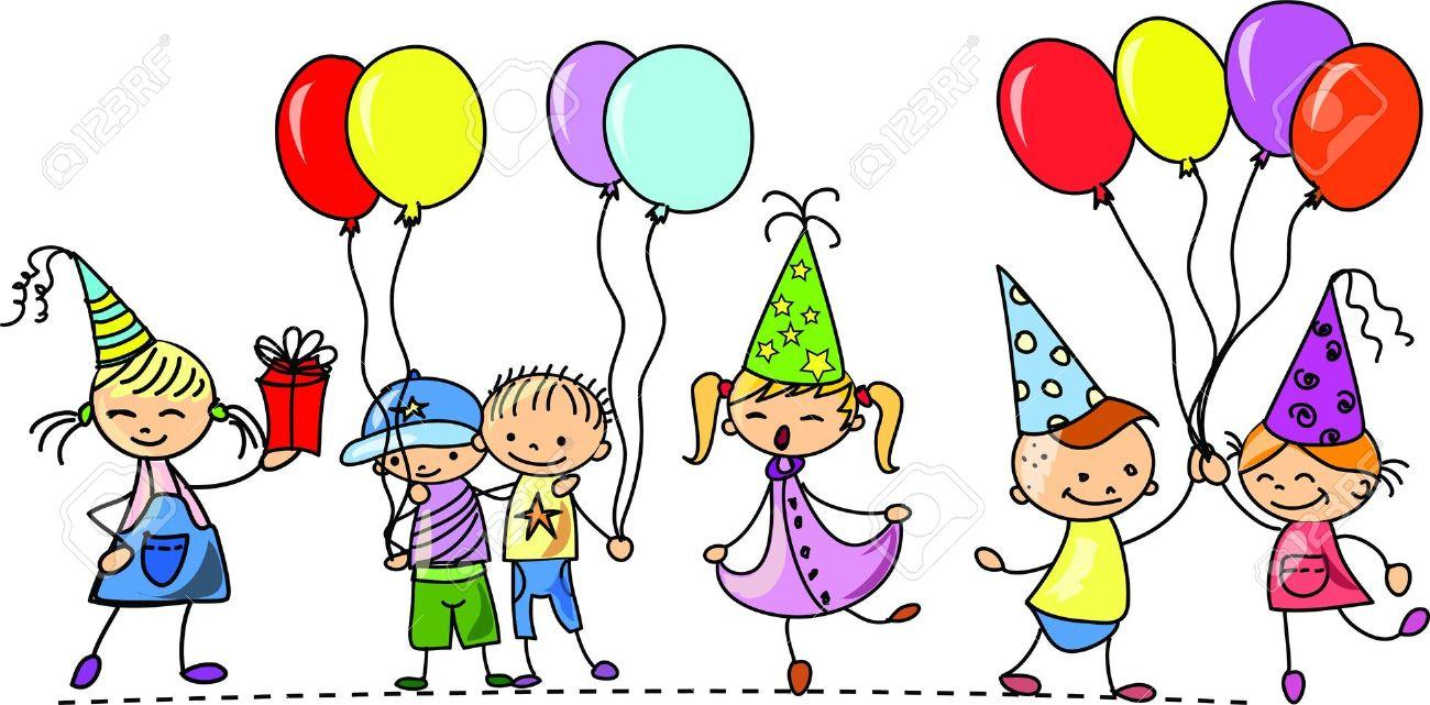 Clipart geburtstag lustig. Feiern clipartfest luftballons kindergeburtstag