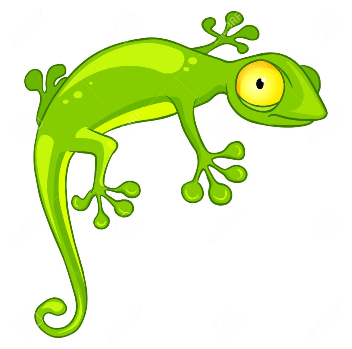 Clipart gecko banner royalty free stock Cute Gecko Clipart | Scroll Wallpapers banner royalty free stock