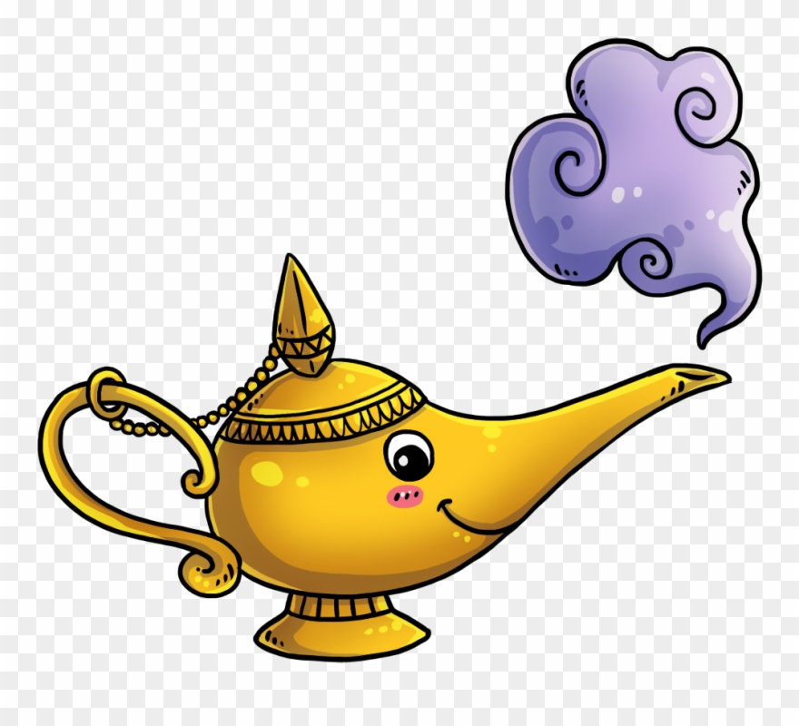 Clipart genie lamp vector Lamp Cliparts) - Genie Lamp Clip Art - Png Download (#122480 ... vector