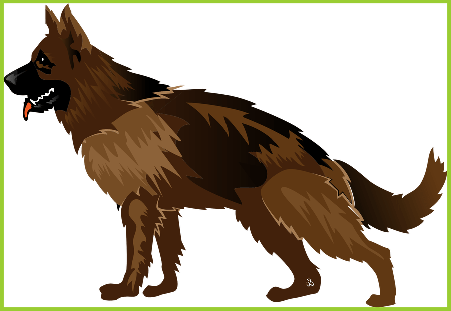 German shepherd dog clipart graphic library Best German Shepherd Names Pict Of Dog Cartoon Ideas And Concept ... graphic library