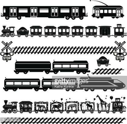 Clipart gg1 picture transparent stock railroad track clipart - Google Search | Train Silhouettes, Vectors ... picture transparent stock