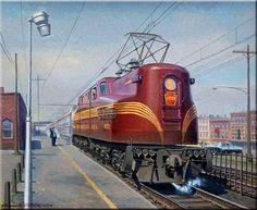 Clipart gg1 jpg black and white library 744 Best Train Art images in 2017 | Train art, Train, Locomotive jpg black and white library