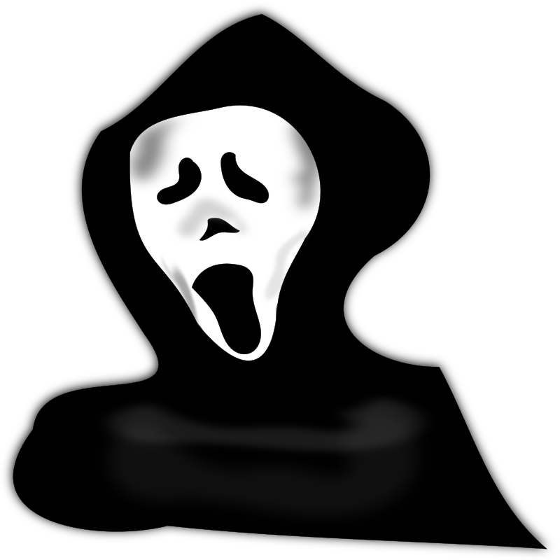 Clipart halloween ghost transparent download Clipart - ghost under hood transparent download