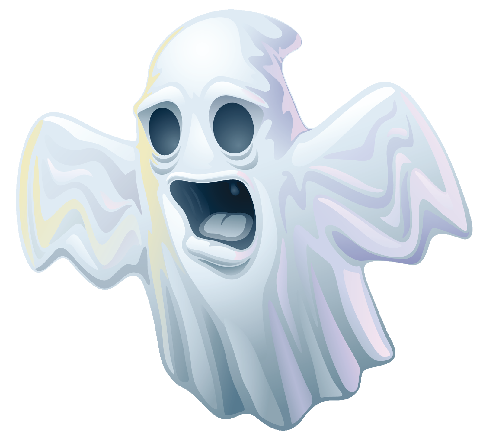 Clipart ghosts halloween png clip art free download Creepy Halloween Ghost PNG Clipart   Gallery Yopriceville - High ... clip art free download