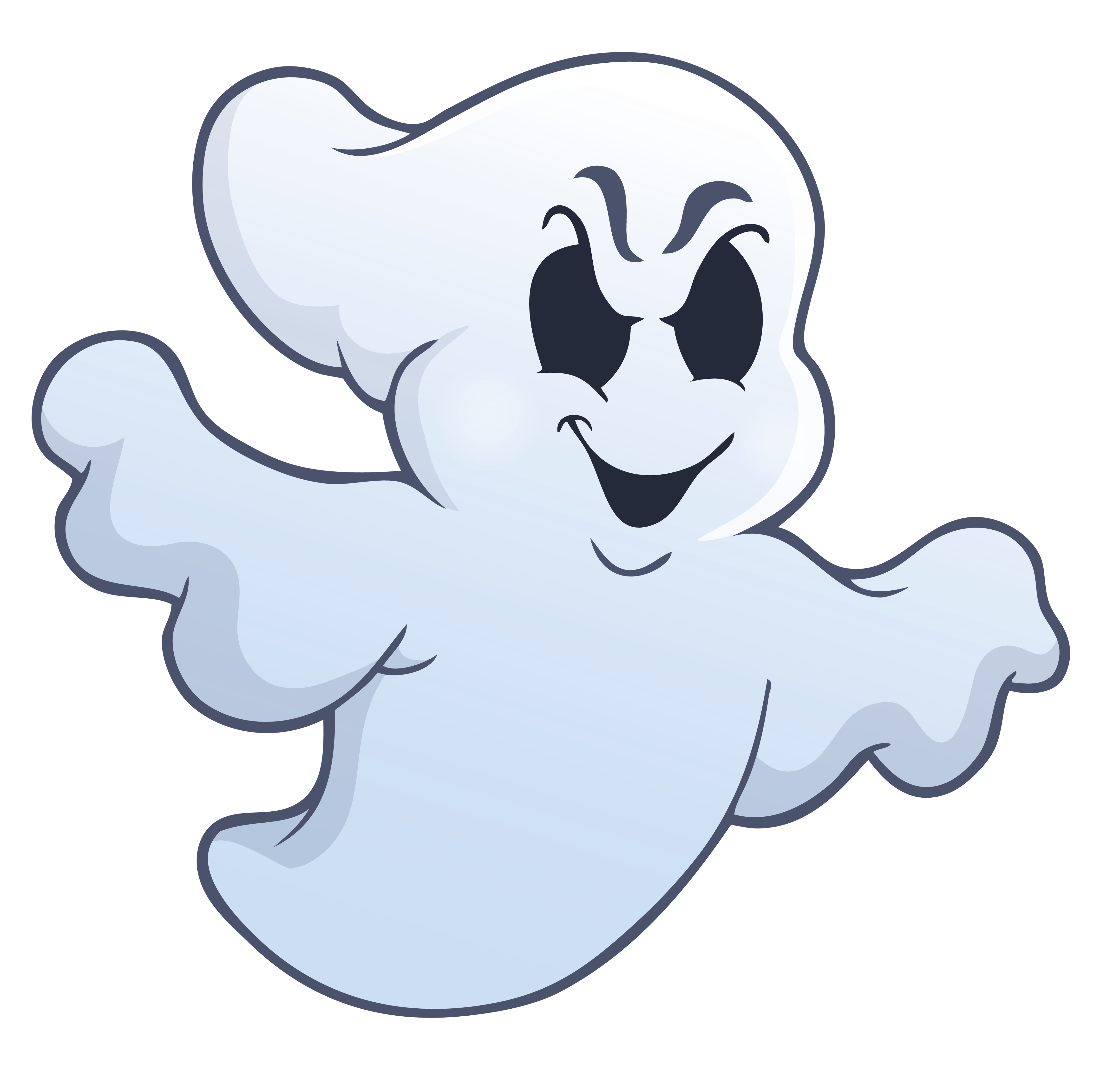 Halloween animated clipart clip art transparent download Halloween Evil Ghost PNG Picture | Gallery Yopriceville - High ... clip art transparent download