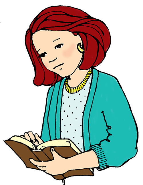 Clipart girl and teacher reading book clip royalty free Earn Free books for your school by reviewing our books - Wilbooks clip royalty free