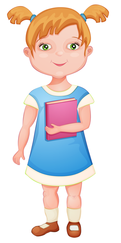Girl going to school clipart clip royalty free library 02 [преобразованный].png | Pinterest | School, Clip art and Scrapbook clip royalty free library