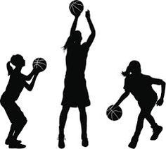 Clipart girl basketball player graphic transparent Girls basketball player clipart 9 » Clipart Station graphic transparent