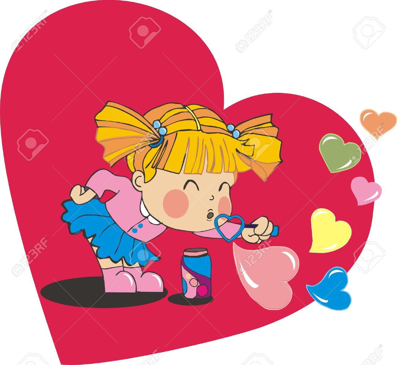Clipart girl blowing hearts valentine clip art free Clipart girl blowing hearts valentine - ClipartFest clip art free