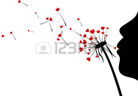 Clipart girl blowing hearts valentine svg transparent 326 Blowing Hearts Stock Vector Illustration And Royalty Free ... svg transparent