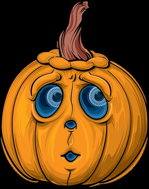 Clipart girl carving pumpkin clip art freeuse library Free photo Carved Pumpkin Lantern Cartoon Halloween Autumn - Max Pixel clip art freeuse library