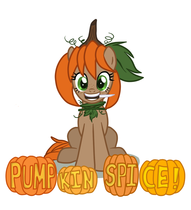 Clipart girl carving pumpkin graphic library download OC: Pumpkin Spice by MangaKa-Girl on DeviantArt graphic library download