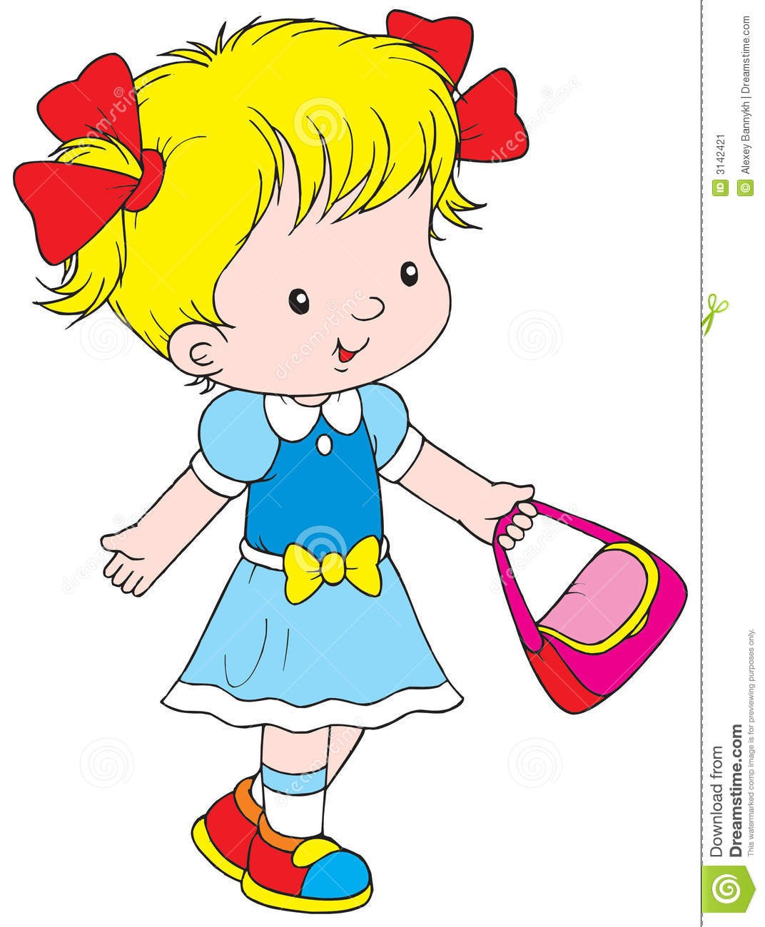 Clipart girl child image library stock In Clipart Of Girl Child Walking 3142421 | Clip Art image library stock