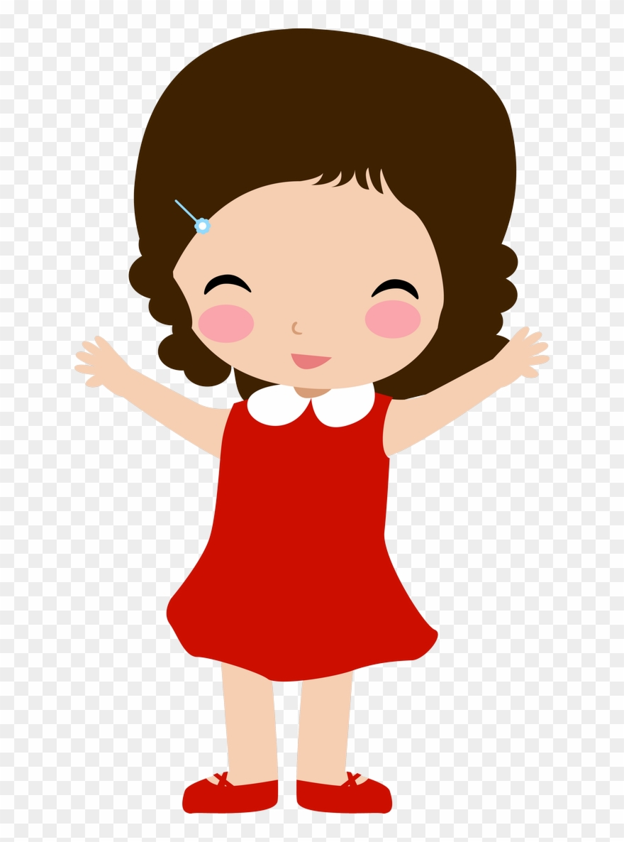 Clipart girl child png freeuse Girls ‿✿⁀○ Family Clipart, Kids Scrapbook, Cute - Kids Vector Free ... png freeuse