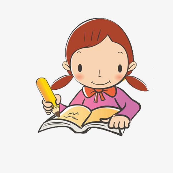 Clipart girl doing homework jpg freeuse library Girl Homework Png & Free Girl Homework.png Transparent Images #25950 ... jpg freeuse library