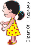 Clipart girl facing left royalty free library Clipart girl facing left - ClipartFest royalty free library