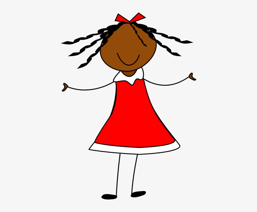 Clipart girl in dress banner library stock This Free Clipart Png Design Of Girl In Red Dress Clipart - Girl In ... banner library stock