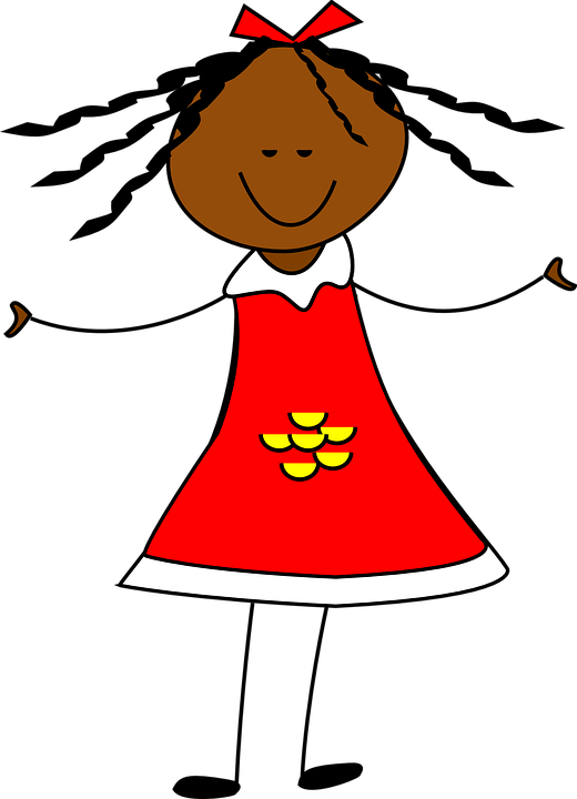Clipart girl in dress clip freeuse stock Girl With A Dress Clipart - Png Download - Full Size Clipart ... clip freeuse stock