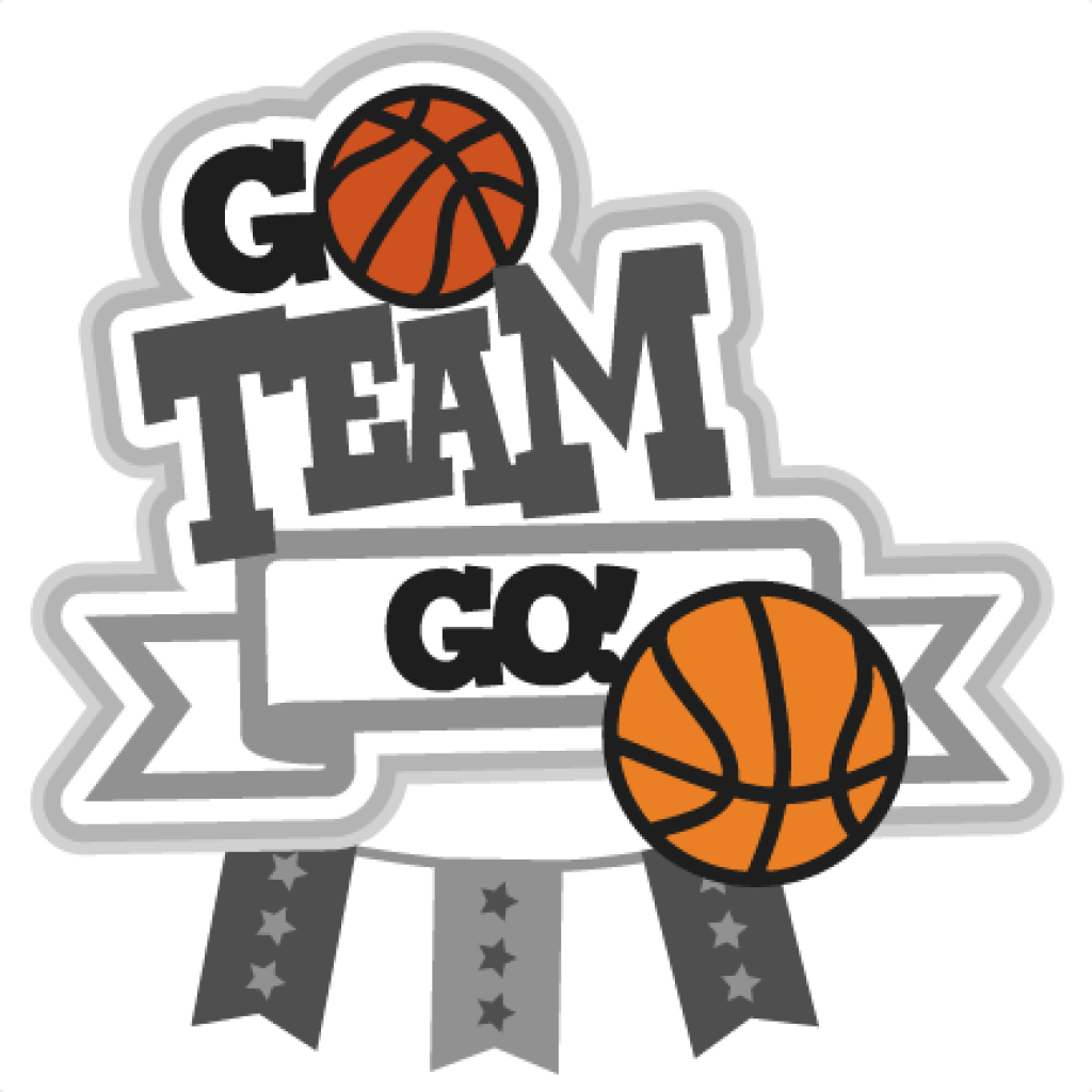 Clipart girls basketball image black and white stock Go Team Clipart flower clipart hatenylo.com image black and white stock