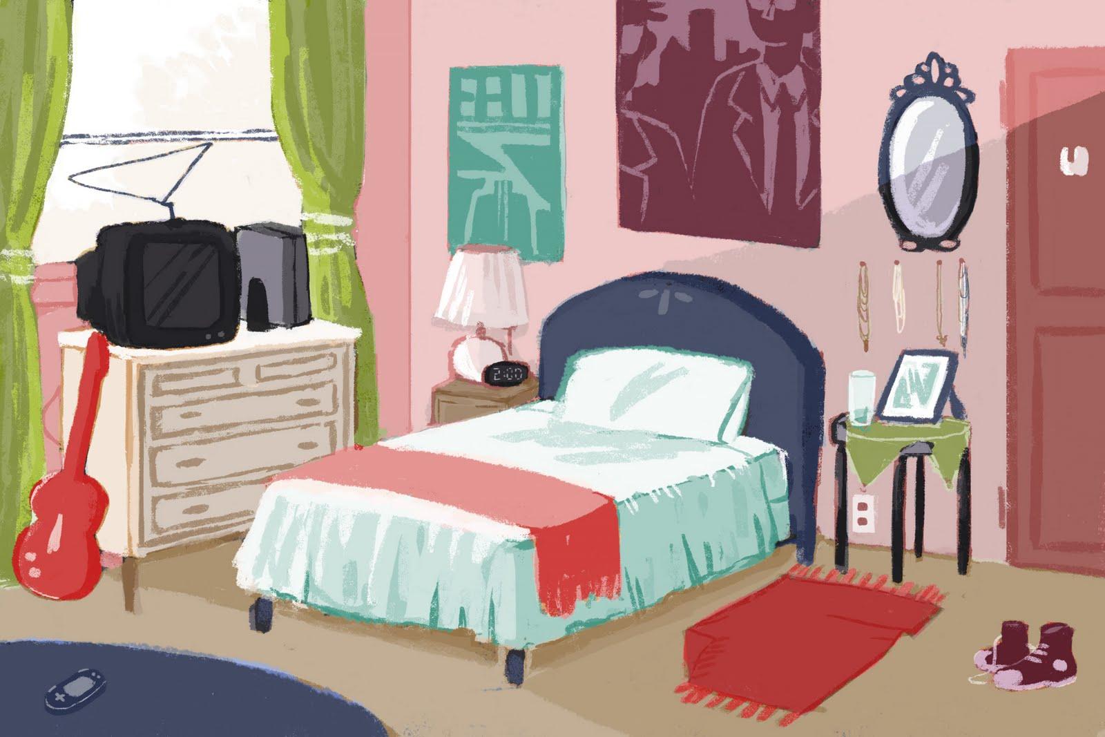 Clipart girls bedroom clip art library download Cliparts Girls Room - Cliparts Zone clip art library download
