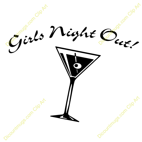 Clipart girls night svg transparent download Girls Night Out Clip Art. | Clipart Panda - Free Clipart Images svg transparent download