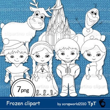 Clipart girls playing in snow black and white clip transparent library snow princess boys and girls clipart black & white, line art, coloring,  stamp clip transparent library