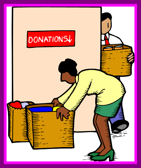 donating money clipart #12