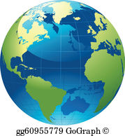 Clipart globe free clip freeuse library Globe Clip Art - Royalty Free - GoGraph clip freeuse library