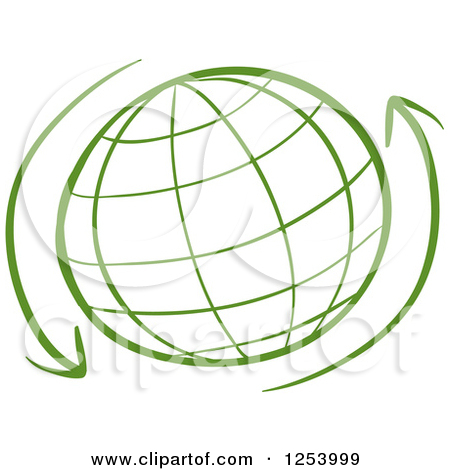 Clipart globe with arrow graphic transparent stock Arrow through globe clipart - ClipartFest graphic transparent stock