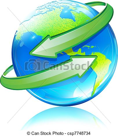 Clipart globe with arrow banner free library Clipart globe with arrow - ClipartFest banner free library
