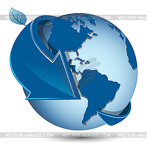 Clipart globe with arrow svg black and white library globe with arrow - vector clipart svg black and white library
