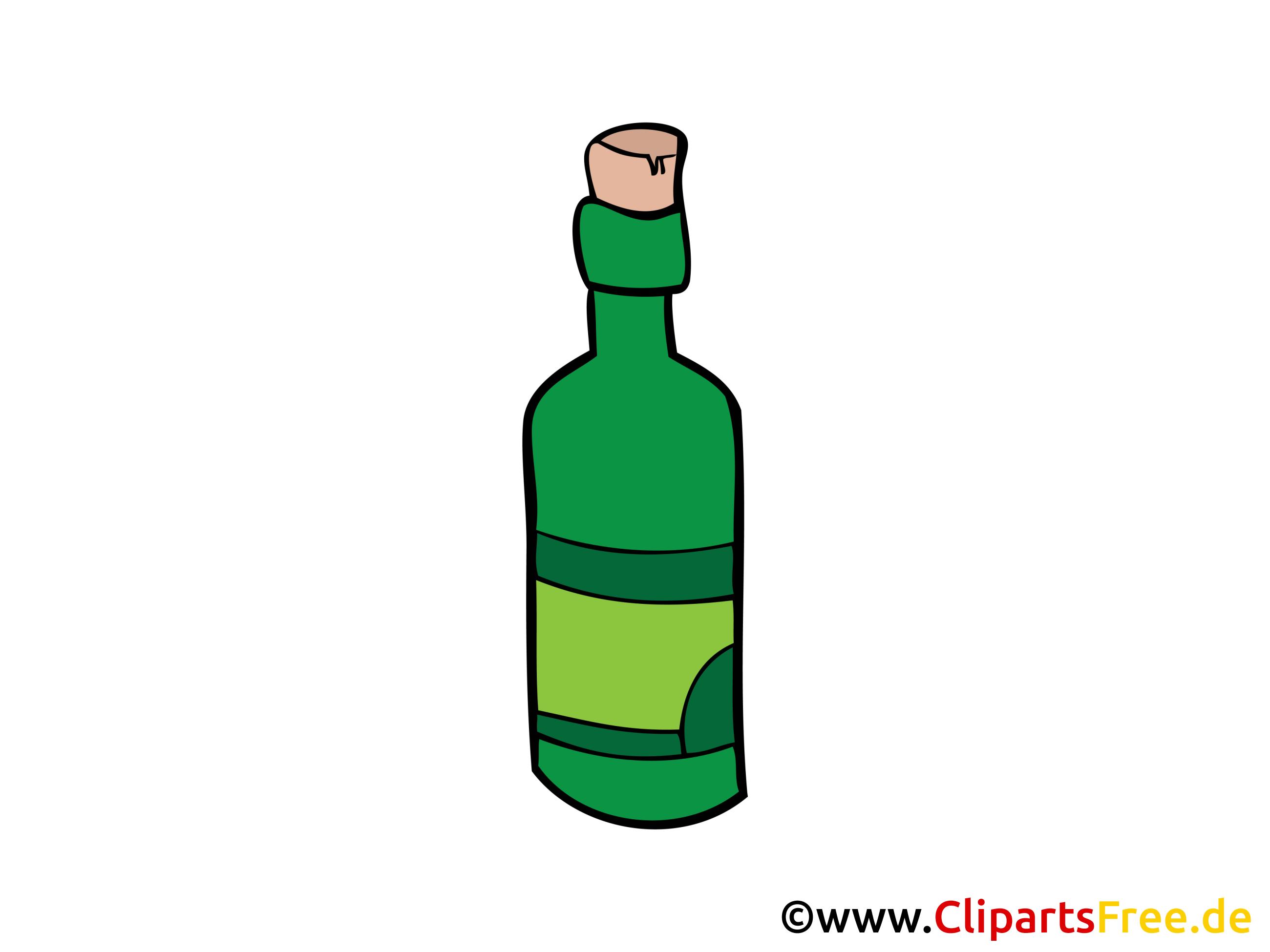 Clipart glser und flaschen clip art library download Flasche Wein Bild, Clipart, Illustration, Grafik gratis clip art library download