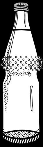 Clipart glser und flaschen image freeuse library Vektor-ClipArt leere Mineralwasser Flasche | Public Domain Vektoren image freeuse library