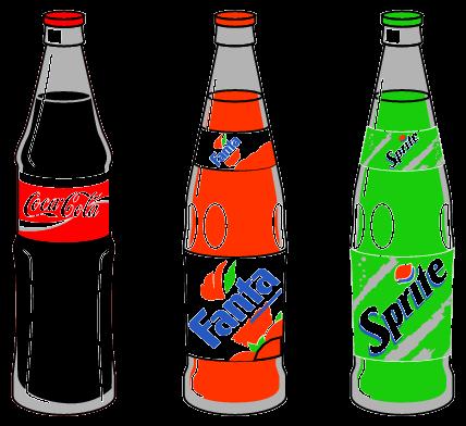 Clipart glser und flaschen vector royalty free Clipart cola - ClipartFest vector royalty free