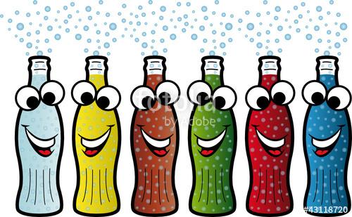 Clipart glser und flaschen banner download Flaschen