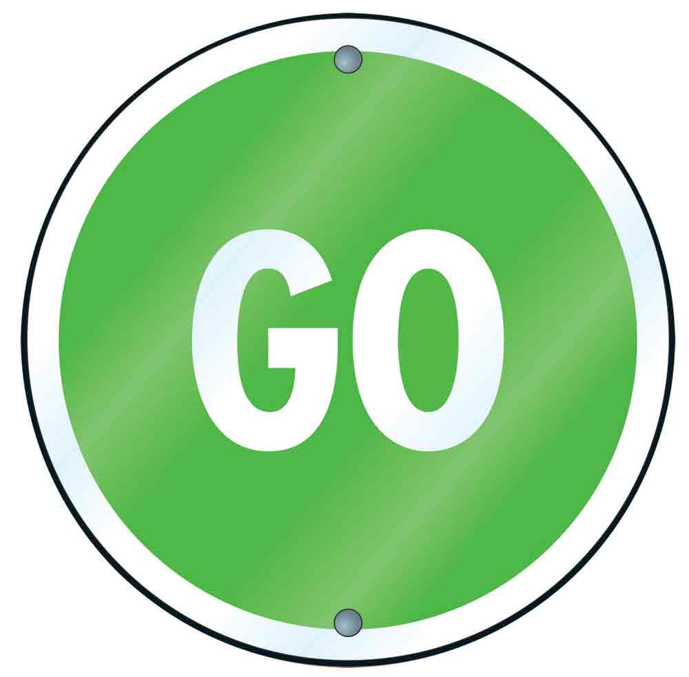 Clipart go sign png stock Best Green Go Sign #19844 - Clipartion.com png stock