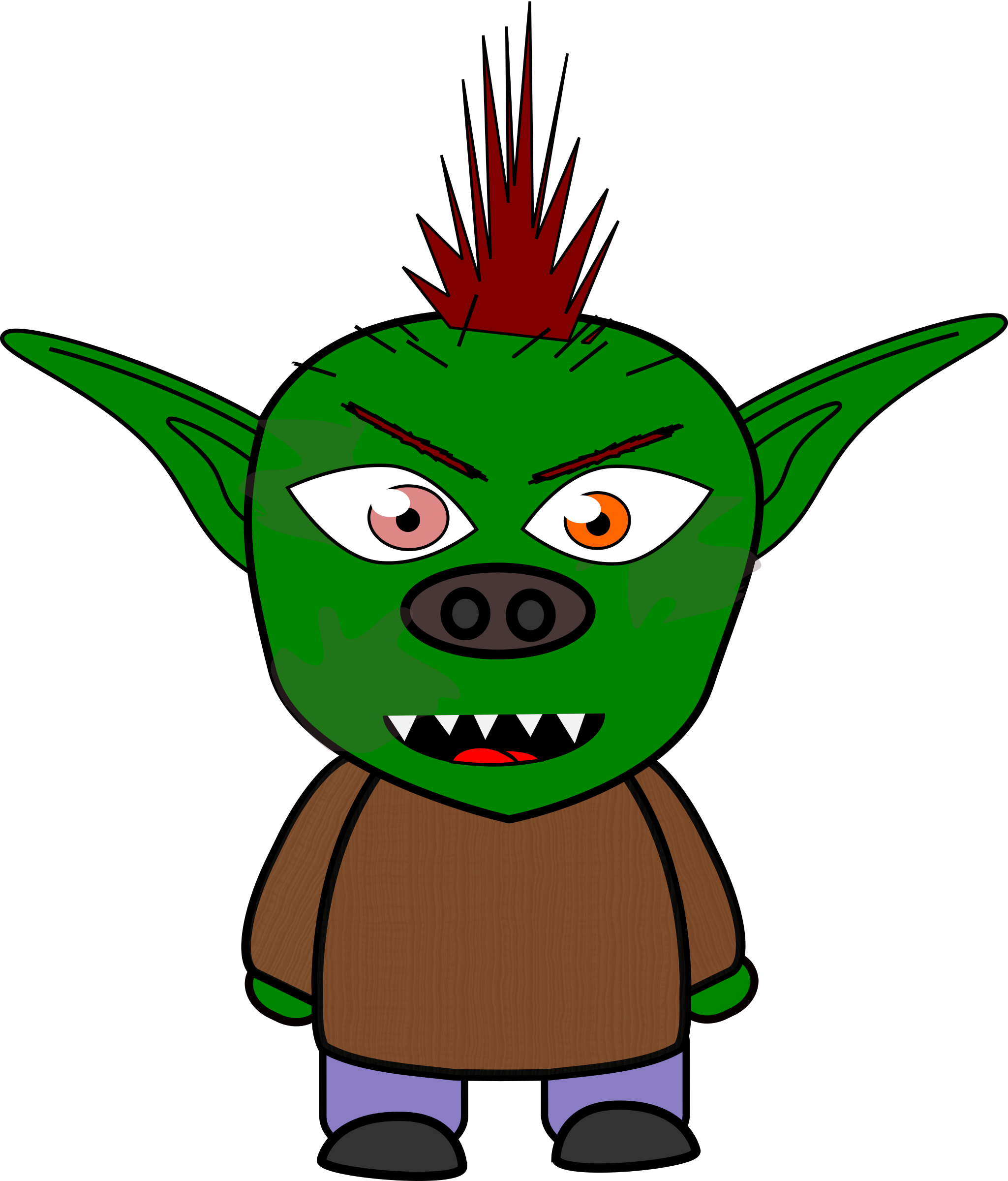Clipart goblins graphic free Goblin clip art clipart images gallery for free download   MyReal ... graphic free