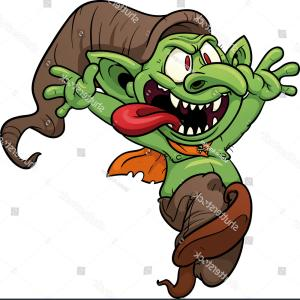 Clipart goblins banner free stock Iijtwjtthe Goblin Axe Of Araz Illustration Clipart   HandandBeak banner free stock