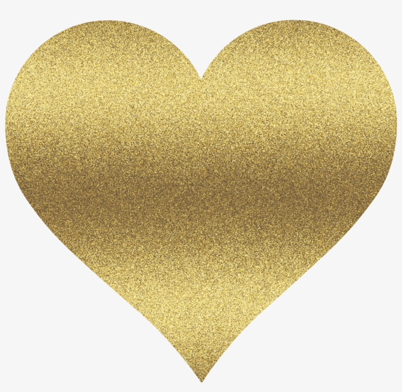 Clipart gold collection banner freeuse stock 28 Collection Of Gold Clipart Heart - Gold Glitter Heart Clipart ... banner freeuse stock